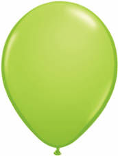 Qualetex Lime Green Balloons 6 Pack